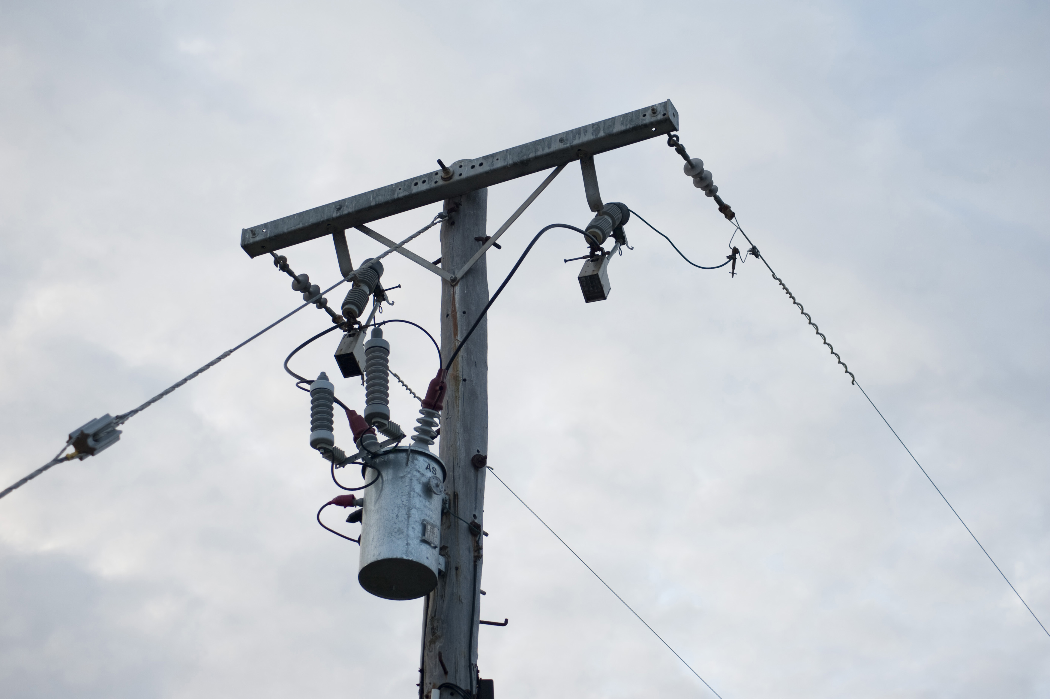 Free Stock image of Transformer on an electricity pole ...