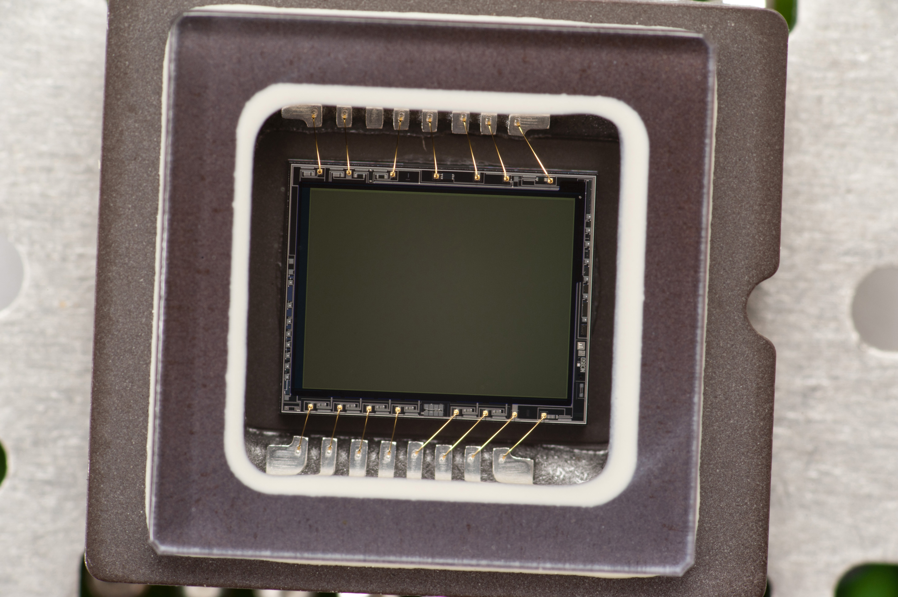 Digital camera CMOS sensor, which is an active-pixel sensor consisting of an integrated circuit containing an array of pixel sensors, each pixel containing a photodetector and an active amplifier.
