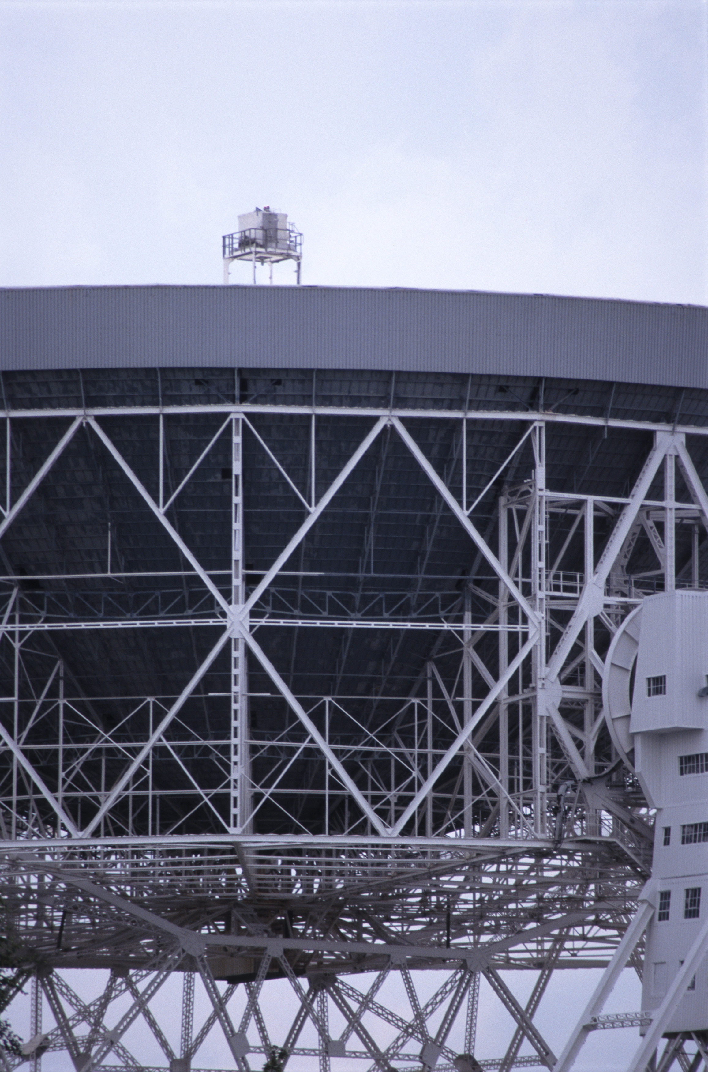 Jodrel bank Observatory, Britain which hosts a number of radio telescopes for use in astrophysics